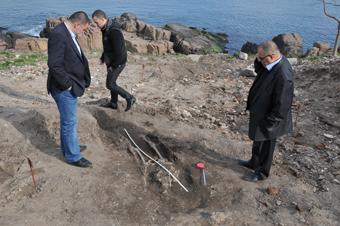 Дъждът изми скелет при разкопките на нос Скамни в Созопол 6