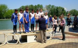 Награждаване гребен клуб Созопол - младежи 1