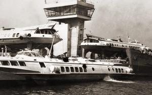 Варна, морската гара, част от кометите на БМФ, 1970г. 1
