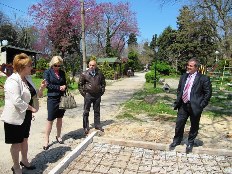 Ротари клуб и община Созопол изграждат спортни площадки в града 6