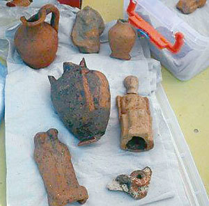 Откриха древен олтар в Созопол 12