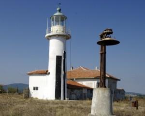 Френско-построеният фар на остров Свети Иван