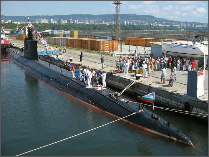 """Последната българска подводница """"СЛАВА"""" става музей 1"""