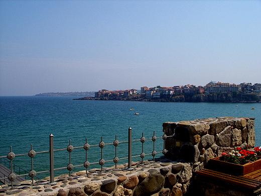 Созопол - поглед от крепостната стена и кула