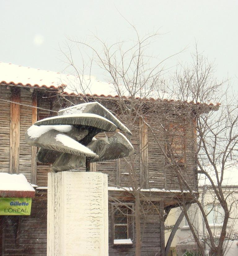 Пътстрой ще чисти снега в община Созопол 3