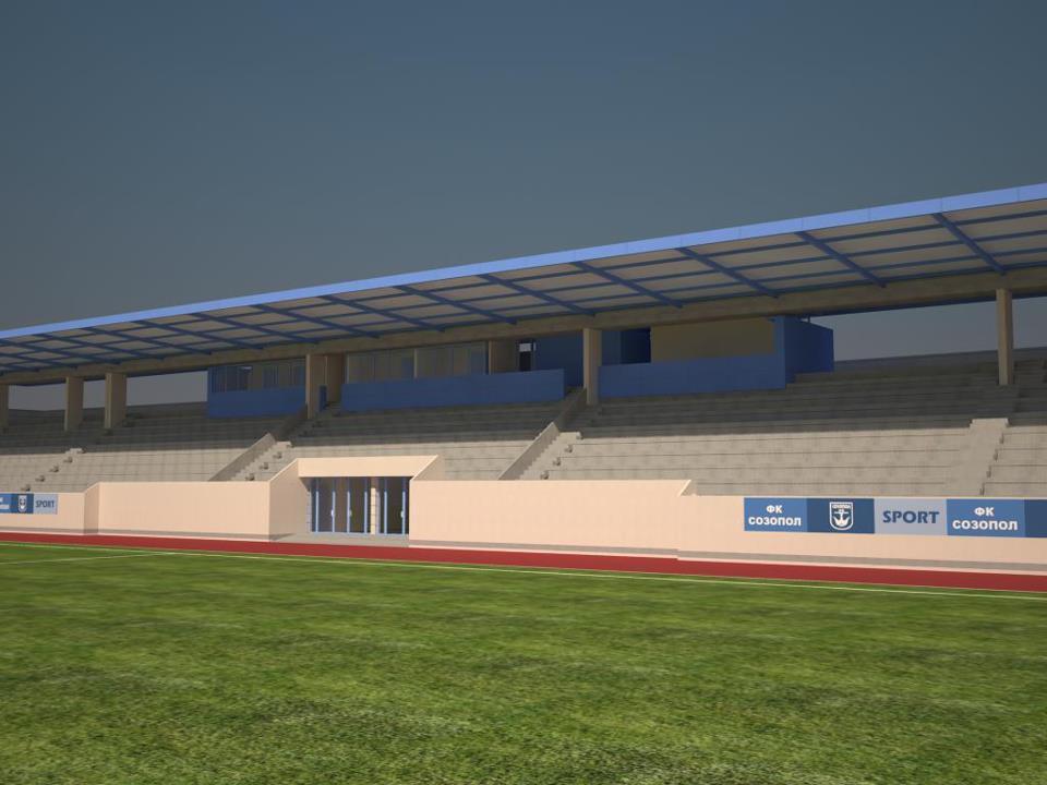 Вижте новия стадион в Созопол 8