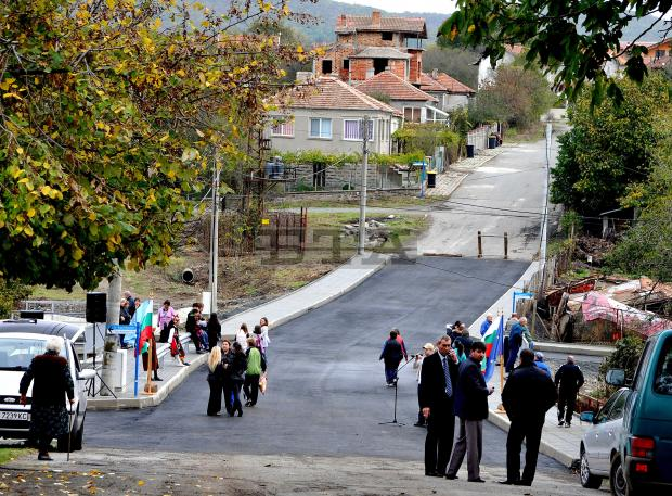 Откриха новия мост в село Росен 1