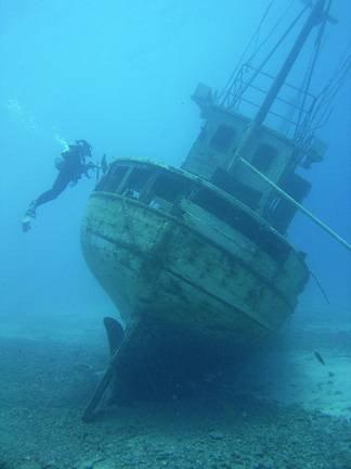 Technical Wreck Diving