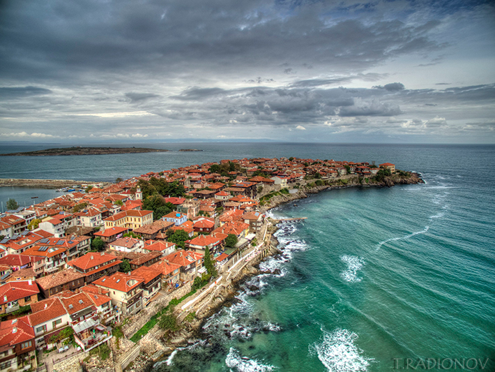 Sozopol drone photo by Todor Radionov
